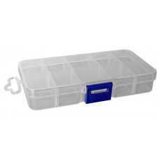 Коробка для риболовних снастей 10 відділень Розмір (см): 2,5*6,5*12,5