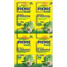 Пластини від комарів Picnic Family 10 шт 10 шт