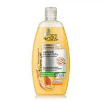 Ніжний крем-гель для душа і ванни «Соковитий персик та масло абрикоса».