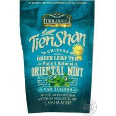 """Чай зеленый байховий листовий """"Східна м'ята"""""""