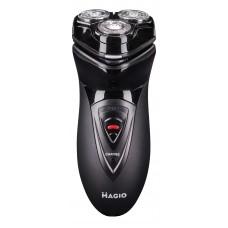 Електробритва Magio MG-683 для сухого гоління з трьома рухомими головками