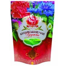 """Чай Китайский """"ДРУЖБА"""" суміш зеленого та чорного китайського байхового листового чаю 70 гр"""